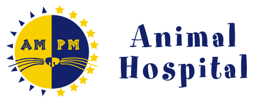 AM/PM Animal Hospital logo